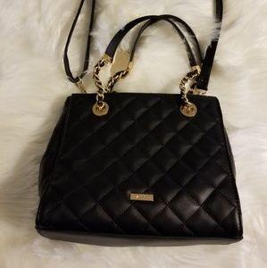 Aldo black purse, crossbody
